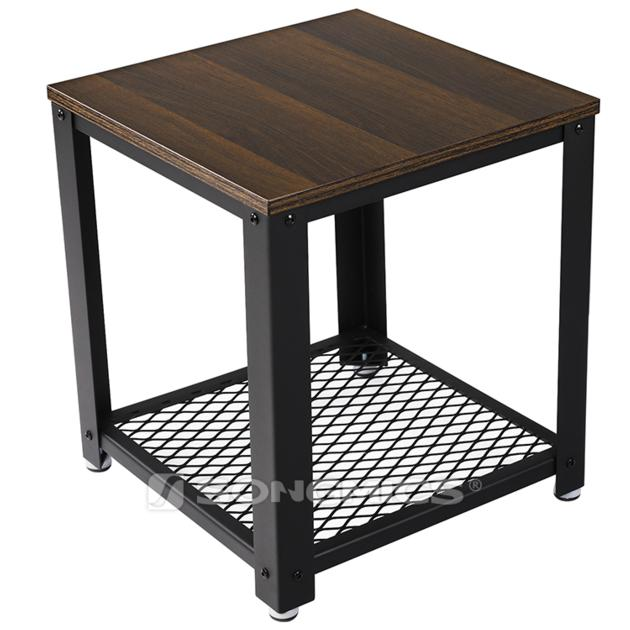 SONGMICS LET41K metal legs side end coffee tables for living room