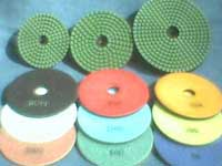 Stone Polishing Tools: Wet, Dry...Polishing Pads & Diamond Grinding Cup Wheels