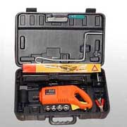 Combined auto road emergency tool kit