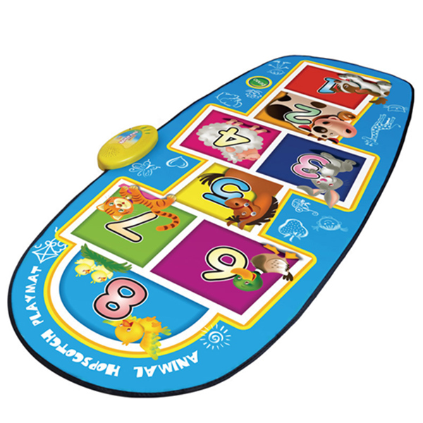 Animal Hopscotch Electronic Music Mat