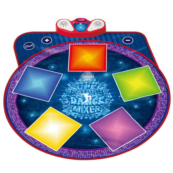Super Star Dance Mixer Playmat