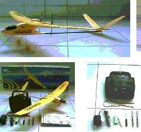 R/C-Helicopter; Plane