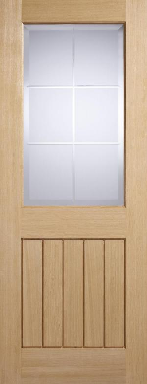 Contemporary Oak Wooden Door