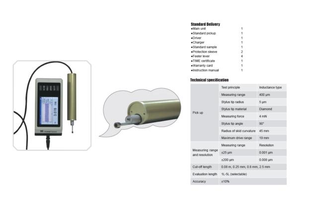 Top Quality Surface Roughness Tester TIME¬3223 from TIME Testing Instruments