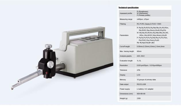 Perfect Accuracy Surface Form Tester Profilometer TIME¬3230