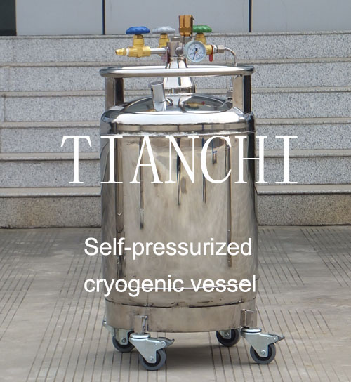 TianChi YDZ-300 Self-pressurized cryogenic vessel Manufacturer in ST