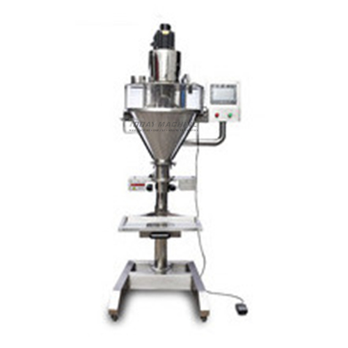 Chemical industry Semi auto auger powder filling machine
