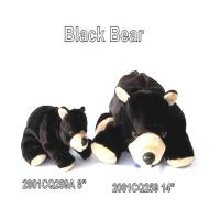 BLACK BEAR BEAN BAG