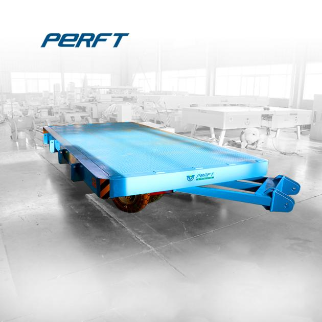 PERFECT Transport Solution China Made Steerable Trailer with Draw Bar