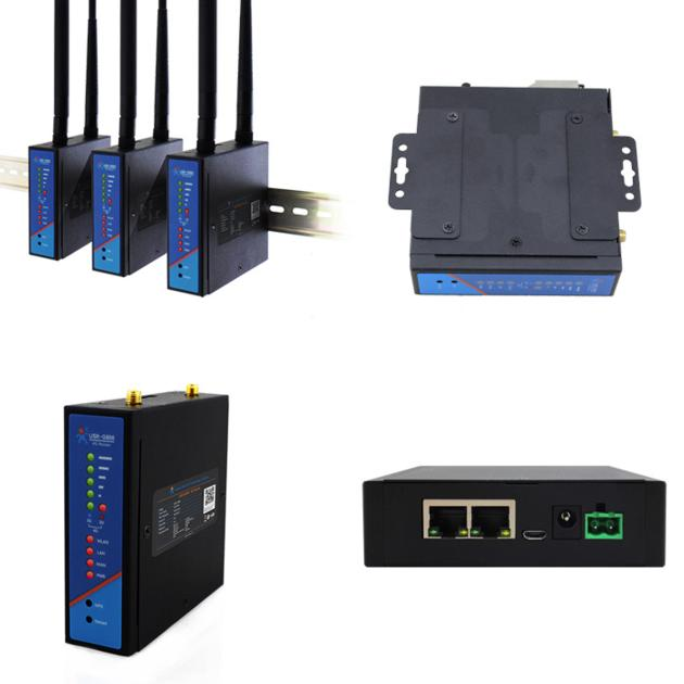 USR-G806 IoT Wireless 3G 4G LTE WiFi Router