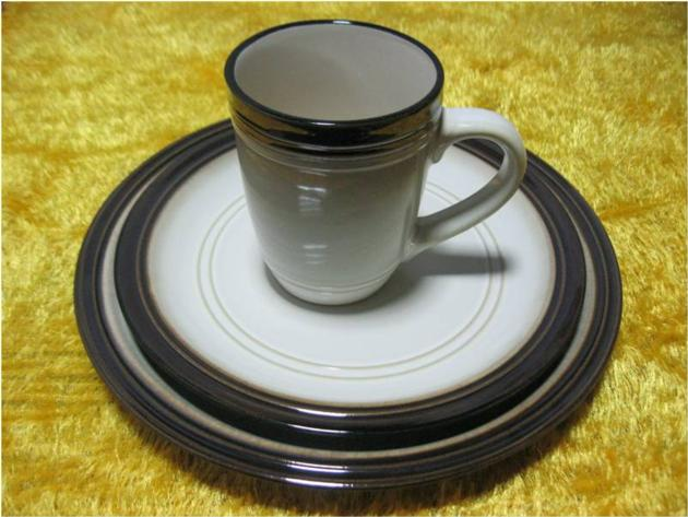 Porcelain Plates and Mug