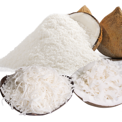 Low Fat and High Fat Desiccated Coconut