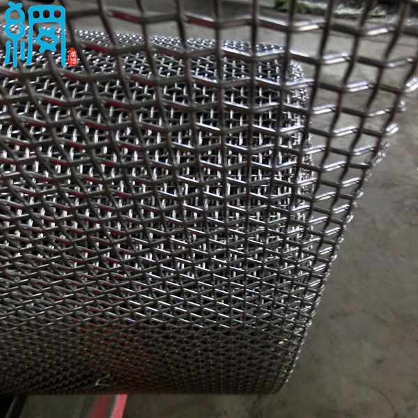 1x1 Mesh Crimped Woven Wire Mesh (1.6-4.8mm wire diameter) - Foreign ...