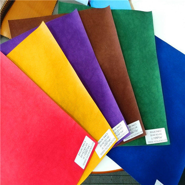 BH4785 Plain Print Embossing PU Synthetic leather 0.6MM*54""