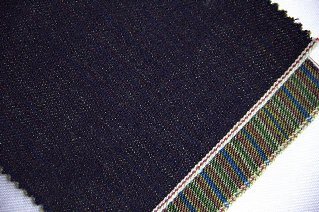 13.2oz Colored Satin Striped Denim Fabric Wholesale W1167