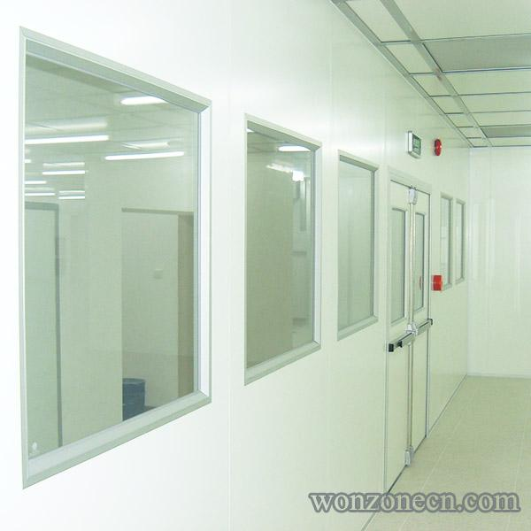 Clean Room Glass Window