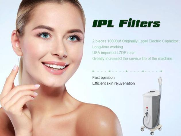 IPL multifunction hair and pigmentation removal machine