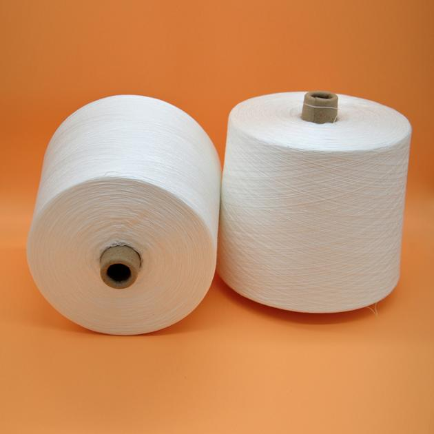 100% Virgin Core Spun Polyester Spandex Yarn for Sewing 60S/2