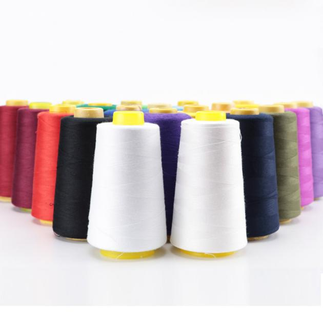 High Quality Knoteless Textile Spun Polyester Yarn Polyester Sewing Thread