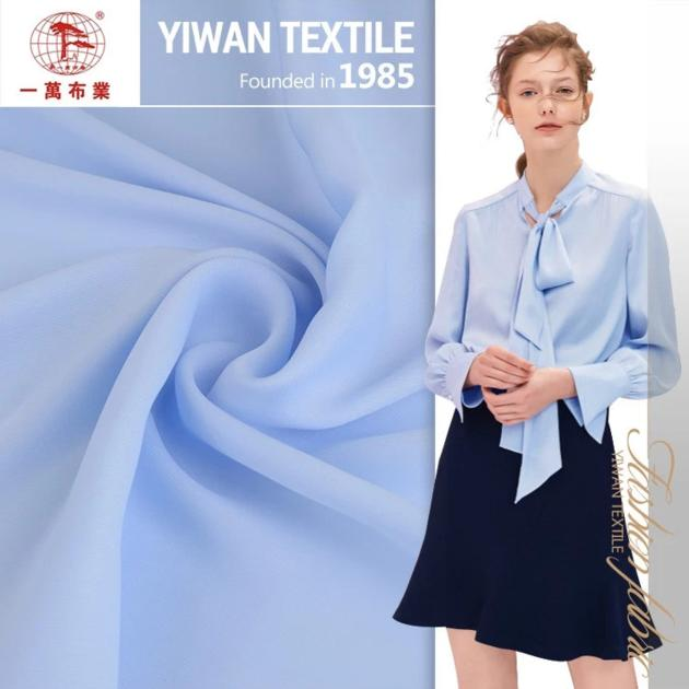 Satin Different kinds of sublimation material fabric for lady blouses