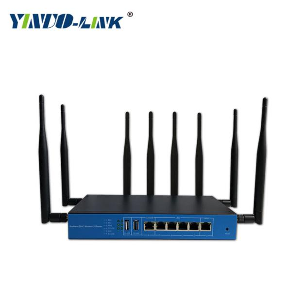 11ac 1200Mbps industrial high power 4g wifi router support QoS ,VPN,Firewall function