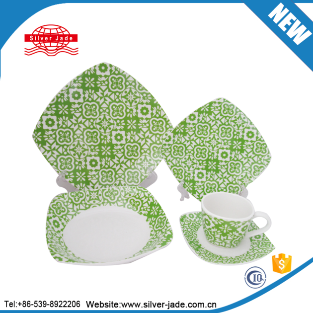 royal Gibson brand wholesale ceramic tableware dinnerset/dinner set with new decals in round and squ