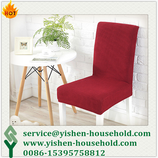 Yishen-Household spandex dining chair covers chair covers chair slip cover cover for chair high chai