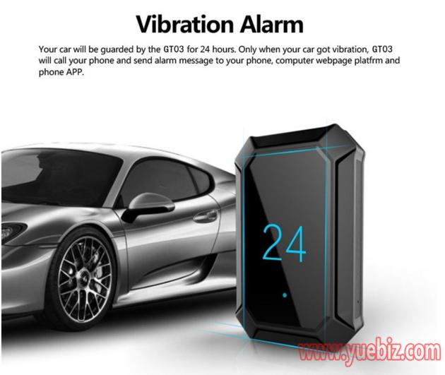 Real Time Mini Car alarm GSM GPS Tracker