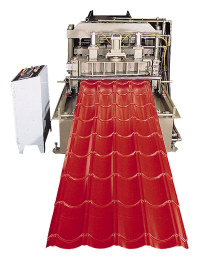 Stepped Tile Roll Forming Line