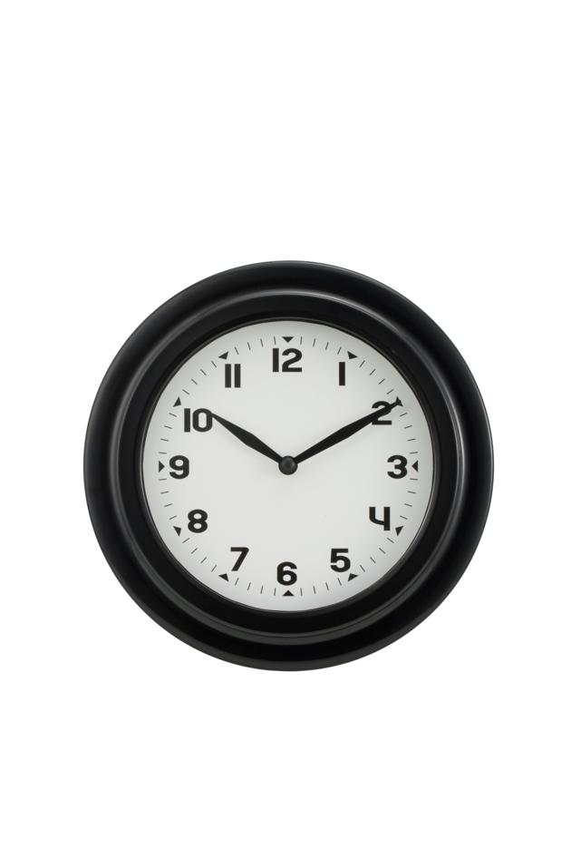 9 inches iron wall clock