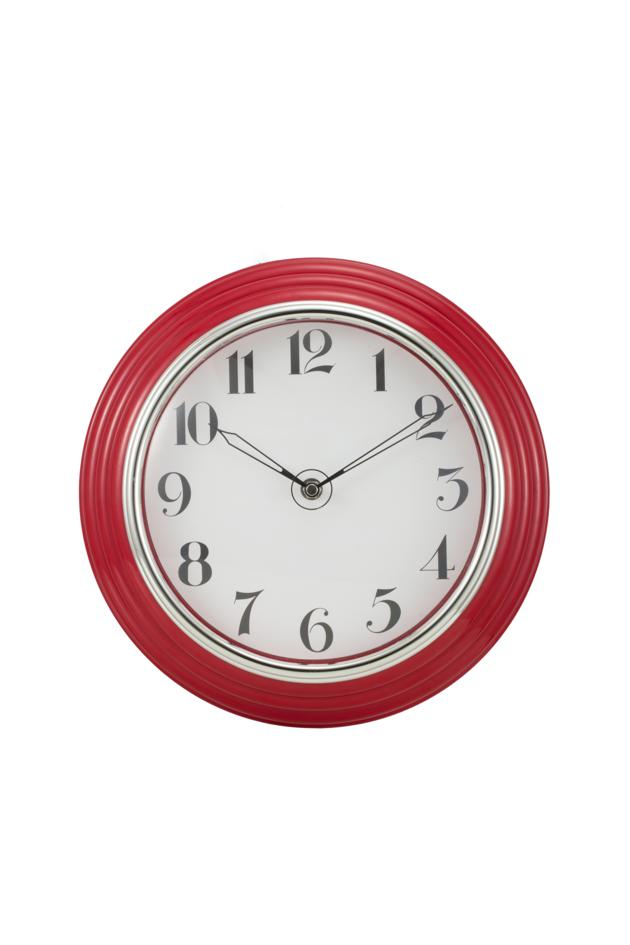 12 inches plastic wall clock (ARC)