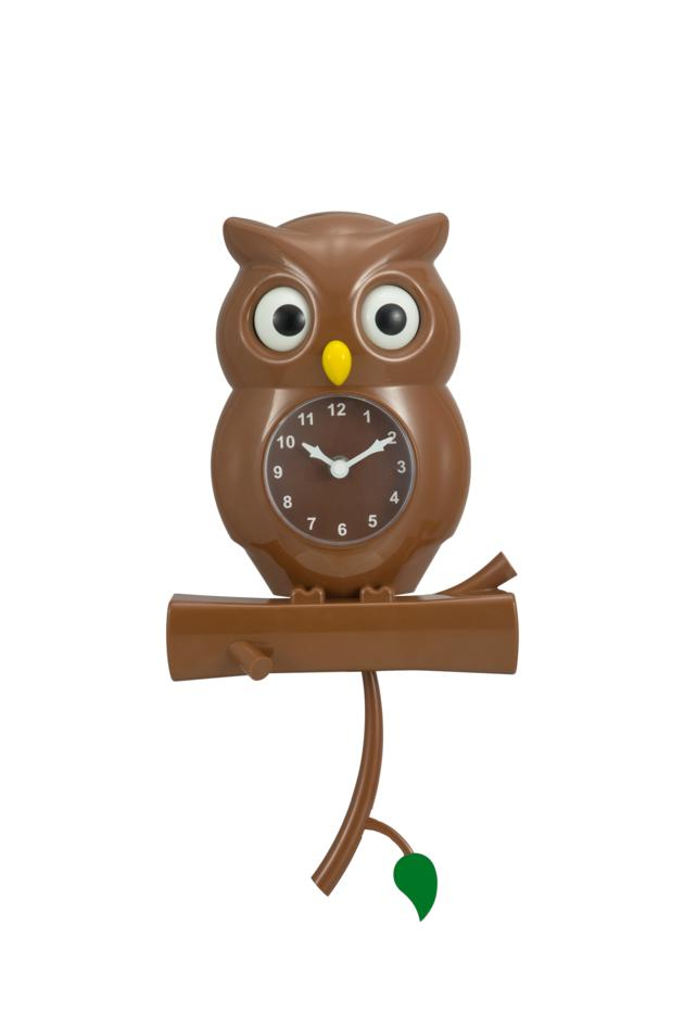 Dynamic Owl's wall clock