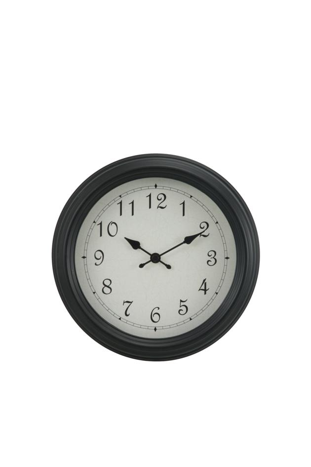 9.5 inches plastic wall clock