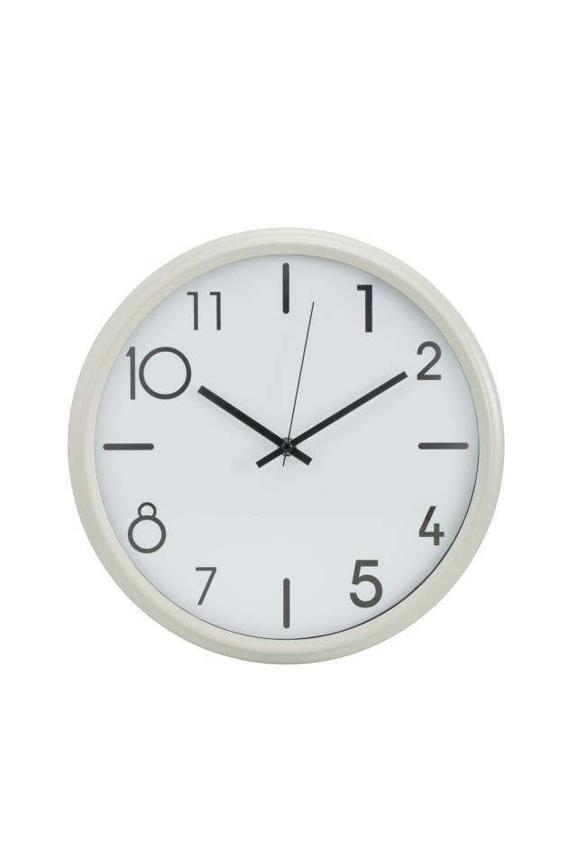 12 inches iron wall clock