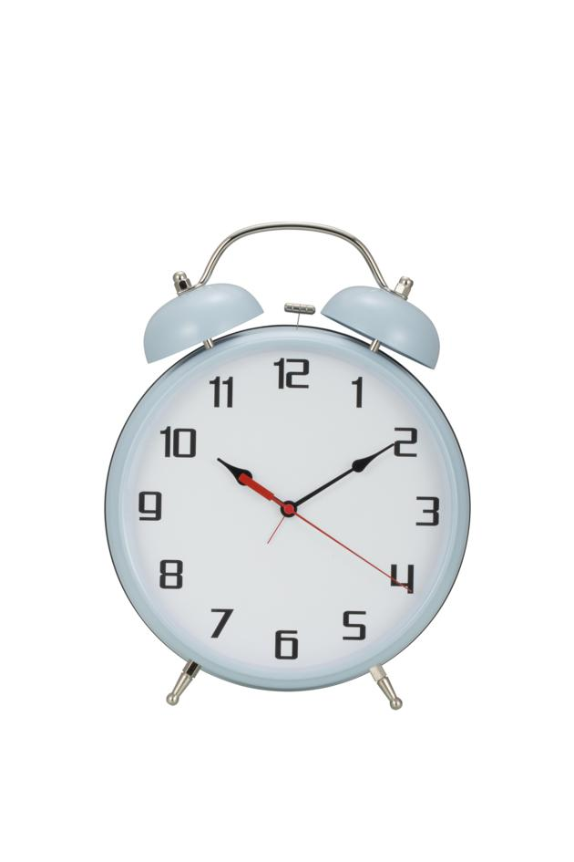 8 Inches Twin Bells Alarm Clock