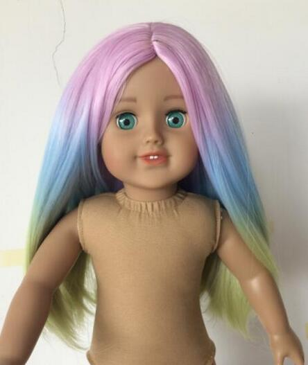 2016 Light Pink Blue Yellow Doll