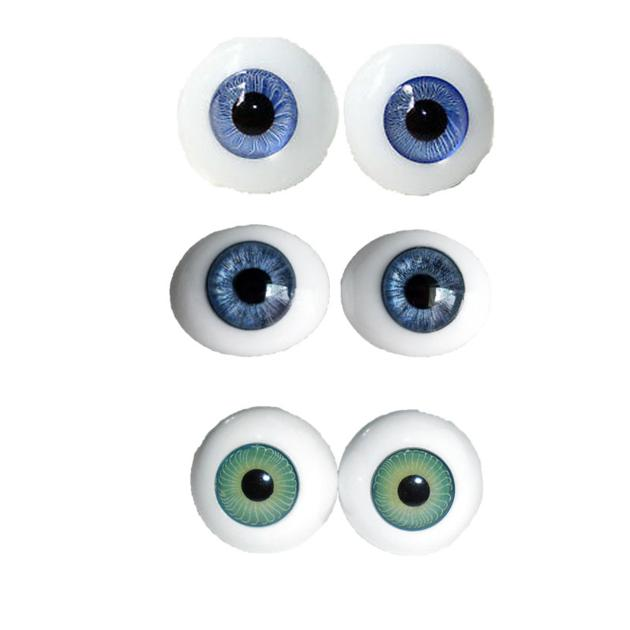 Custom Contact Lenses Acrylic Toys Eyes 8-26mm Any Color American Girl Doll Eyes