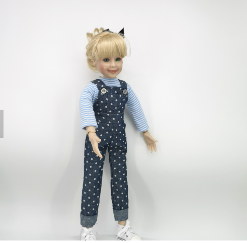 Everyest Wholesale New design soft Silicon Vinyl BJD Doll