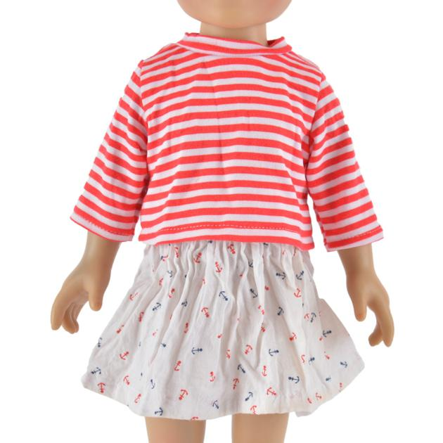 american girl doll and girl matching outfits