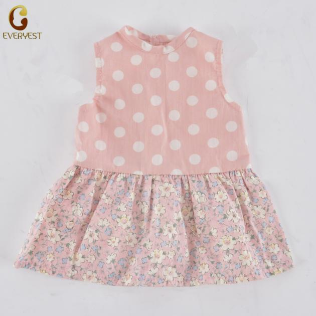 Pink Dot Doll Dress For 18inch